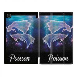 Housse Smart Cover Pour Samsung Galaxy Tab A7 (10.4) Signe Zodiaque 2 Poisson