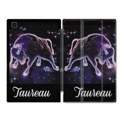 Housse Smart Cover Pour Samsung Galaxy Tab A7 (10.4) Signe Zodiaque 2 Taureau