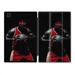 Housse Smart Cover Pour Samsung Galaxy Tab A7 (10.4) Basketeur