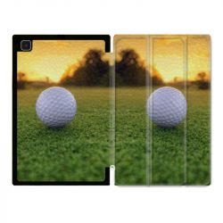Housse Smart Cover Pour Samsung Galaxy Tab A7 (10.4) Golf Balle