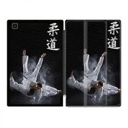 Housse Smart Cover Pour Samsung Galaxy Tab A7 (10.4) Judo Noir