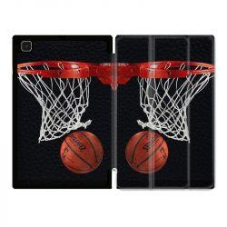 Housse Smart Cover Pour Samsung Galaxy Tab A7 (10.4) Panier Basket