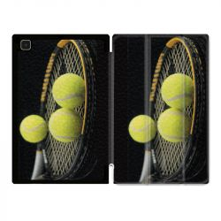 Housse Smart Cover Pour Samsung Galaxy Tab A7 (10.4) Tennis Balls