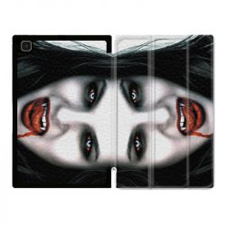 Housse Smart Cover Pour Samsung Galaxy Tab A7 (10.4) Vampire Blanc