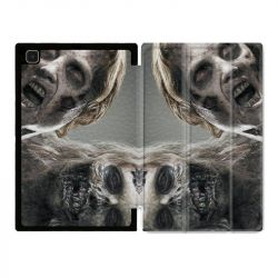 Housse Smart Cover Pour Samsung Galaxy Tab A7 (10.4) Zombie Blanc
