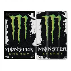 Housse Smart Cover Pour Samsung Galaxy Tab A7 (10.4) Monster Energy Tache