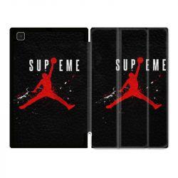 Housse Smart Cover Pour Samsung Galaxy Tab A7 (10.4) Jordan Supreme Noir