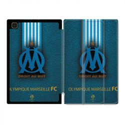 Housse Smart Cover Pour Samsung Galaxy Tab A7 (10.4) Olympique Marseille OM Bande