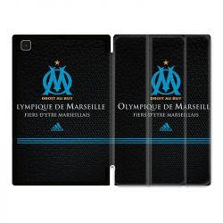 Housse Smart Cover Pour Samsung Galaxy Tab A7 (10.4) Olympique Marseille OM Fier etre Marseillais