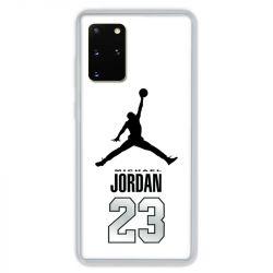 Coque pour Samsung Galaxy S20 PLUS Jordan 23 Blanc