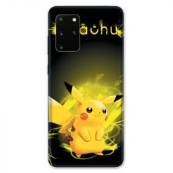 Coque pour Samsung Galaxy S20 PLUS Pokemon Pikachu eclair