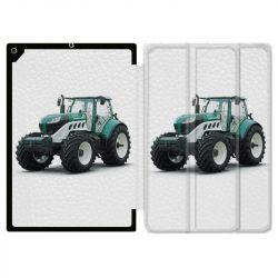 Housse Smart Cover pour Ipad Air 3 / Pro 10.5 Agriculture Tracteur Blanc