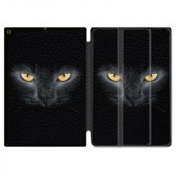 Housse Smart Cover pour Ipad Air 3 / Pro 10.5 Chat Noir