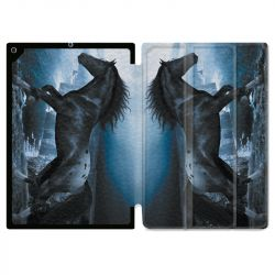 Housse Smart Cover pour Ipad Air 3 / Pro 10.5 Cheval Noir