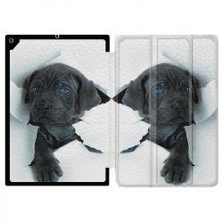 Housse Smart Cover pour Ipad Air 3 / Pro 10.5 Chien Noir
