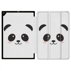 Housse Smart Cover pour Ipad Air 3 / Pro 10.5 Panda Blanc