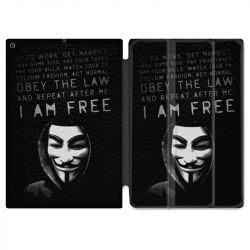 Housse Smart Cover pour Ipad Air 3 / Pro 10.5 Anonymous I am free