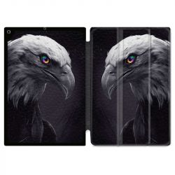 Housse Smart Cover pour Ipad 9.7 (NO VERSION PRO) Aigle Royal Noir