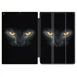 Housse Smart Cover pour Ipad 9.7 (NO VERSION PRO) Chat Noir