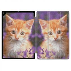 Housse Smart Cover pour Ipad 9.7 (NO VERSION PRO) Chat Violet
