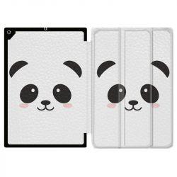 Housse Smart Cover pour Ipad 9.7 (NO VERSION PRO) Panda Blanc