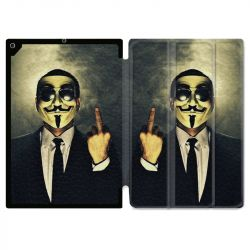 Housse Smart Cover pour Ipad 9.7 (NO VERSION PRO) Anonymous Doigt