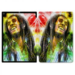 Housse Smart Cover pour Ipad 9.7 (NO VERSION PRO) Bob Marley Color