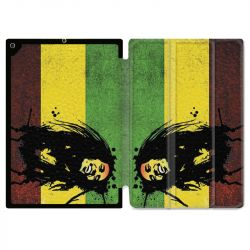 Housse Smart Cover pour Ipad 9.7 (NO VERSION PRO) Bob Marley Drapeau
