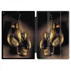 Housse Smart Cover pour Ipad 9.7 (NO VERSION PRO) Boxe Gant Vintage