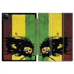 Housse Smart Cover pour Ipad 11 Pro 2020 Bob Marley Drapeau