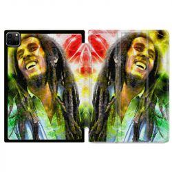 Housse Smart Cover pour Ipad 11 Pro 2020 Bob Marley Color