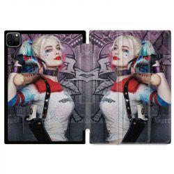 Housse Smart Cover pour Ipad 11 Pro 2020 Harley Quinn Batte