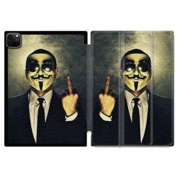 Housse Smart Cover pour Ipad 11 Pro 2020 Anonymous Doigt