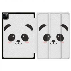 Housse Smart Cover pour Ipad 11 Pro 2020 Panda Blanc