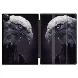Housse Smart Cover pour Ipad 11 Pro 2020 Aigle Royal Noir