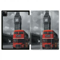 Housse Smart Cover pour Ipad 11 Pro 2020 Angleterre London Bus