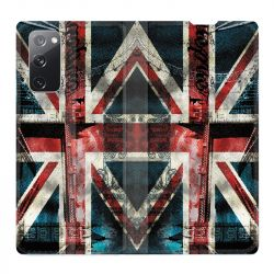 Housse Cuir Portefeuille Pour Samsung Galaxy S20 FE / S20FE Angleterre UK Jean's