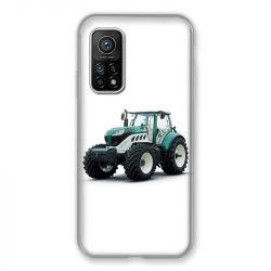 Coque Pour Xiaomi Mi 10T / Mi 10T Pro Agriculture Tracteur Blanc