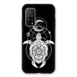 Coque Pour Xiaomi Mi 10T / Mi 10T Pro Animaux Maori Tortue Noir
