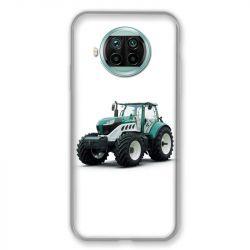 Coque Pour Xiaomi Mi 10T Lite 5G Agriculture Tracteur Blanc