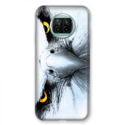 Coque Pour Xiaomi Mi 10T Lite 5G Aigle Royal Blanc