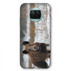 Coque Pour Xiaomi Mi 10T Lite 5G Chasse Sanglier Neige