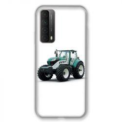 Coque Pour Huawei P Smart (2021) Agriculture Tracteur Blanc