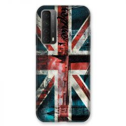 Coque Pour Huawei P Smart (2021) Angleterre UK Jean's