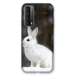Coque Pour Huawei P Smart (2021) Lapin Blanc