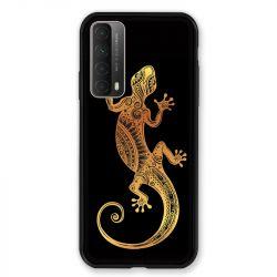 Coque Pour Huawei P Smart (2021) Animaux Maori Lezard Noir
