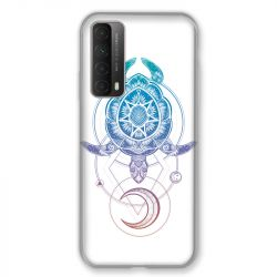 Coque Pour Huawei P Smart (2021) Animaux Maori Tortue Color