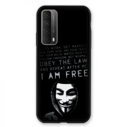 Coque Pour Huawei P Smart (2021) Anonymous I am free