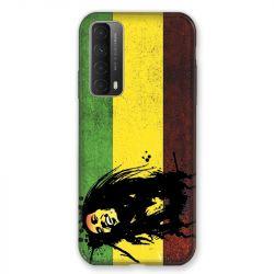 Coque Pour Huawei P Smart (2021) Bob Marley Drapeau