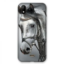 Coque Pour Wiko Y61 Cheval Blanc